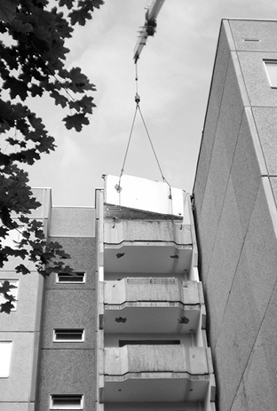 Bauvorhaben - Umbau von Wohnungen in Plattenbauweise - Centro Umwelttechnik